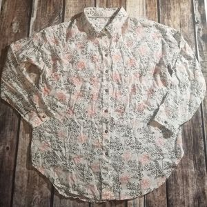 Anthropologie xs/s button up blouse
